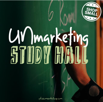 unmarketing study hall