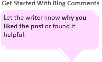 Get started with blog comments