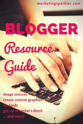 Blogger Resource Guide updated cover