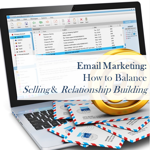 email marketing how to balance relationship building