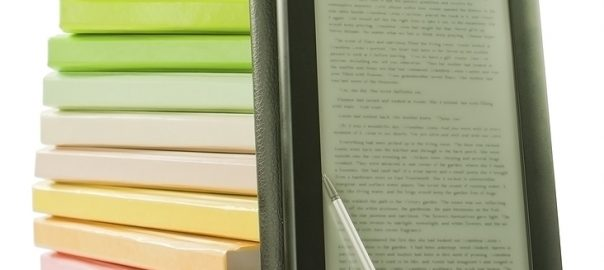 stack of books-ebook
