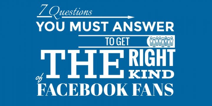 How Do You Attract the Right Facebook Fans? [Infographic]