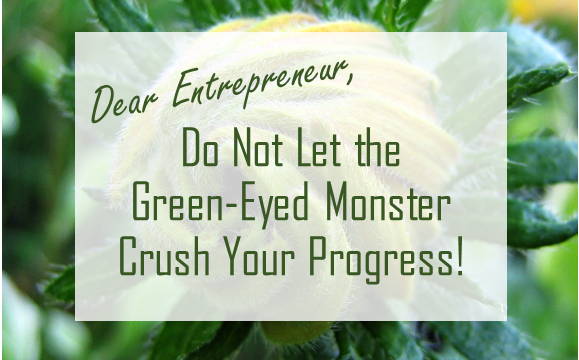 Do Not Let Envy of the Competition Crush Your Progress
