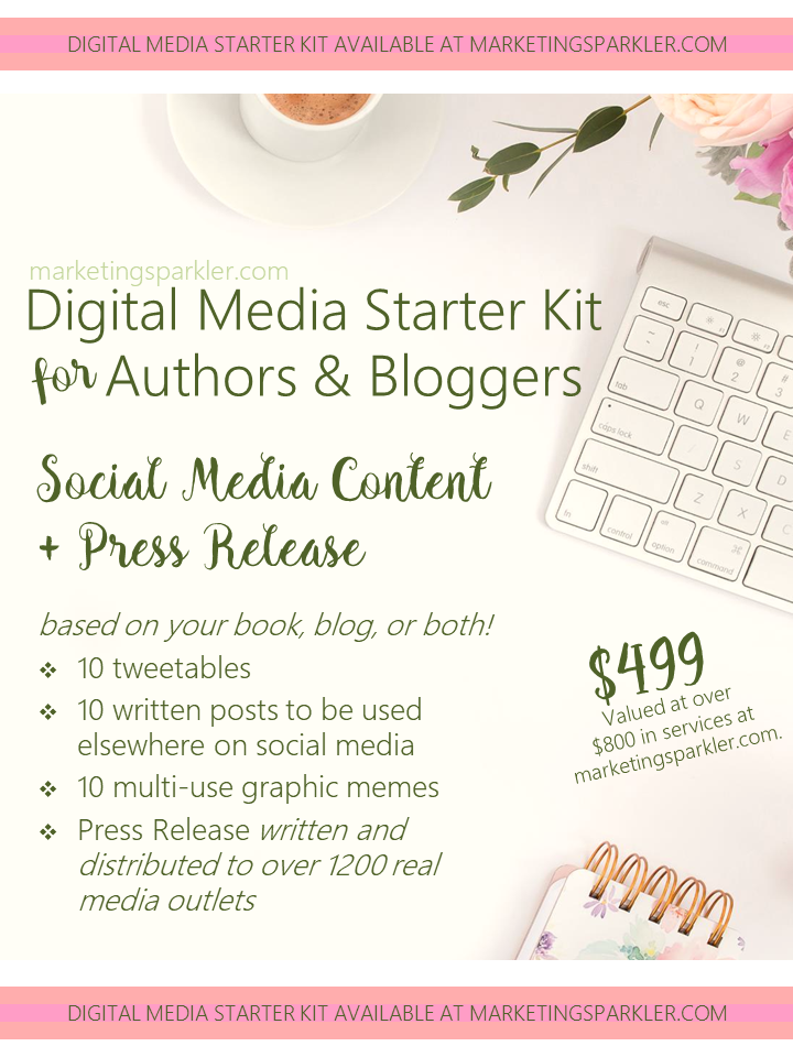 SERVICE Digital Media Starter Kit for Authors and Bloggers
