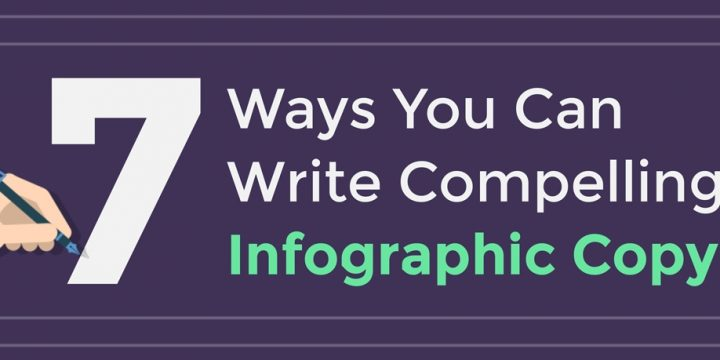 7 Steps to Writing Catchy Infographic Copy [infographic]