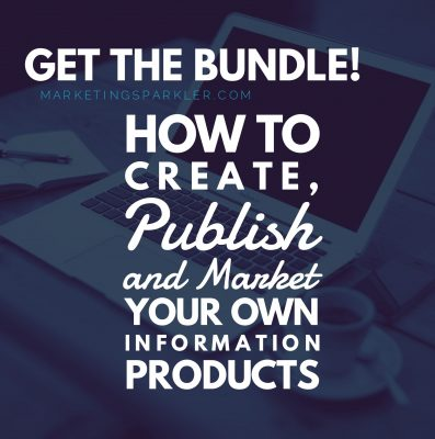 Create market publish information products