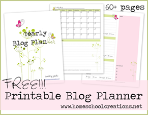 Organization With A Simple Blog Planner