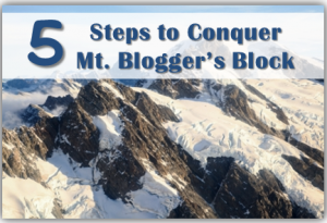 Mount Bloggers Block