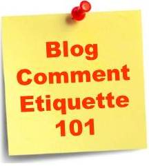 A Quick Guide to Blog Comment Etiquette