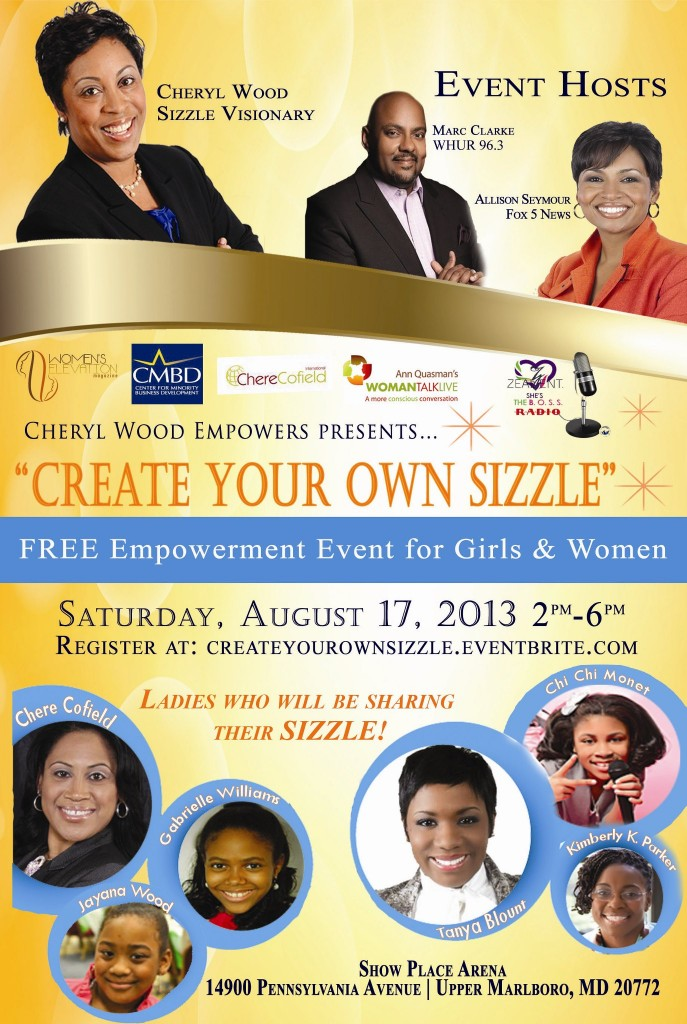CYOSizzle Flyer Cheryl Wood