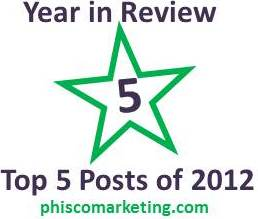Year In Review: My 5 Most Popular Posts of 2012