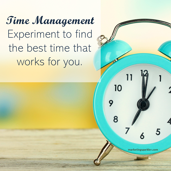 When it comes to social media management, you have to create a time management system that works best for you.