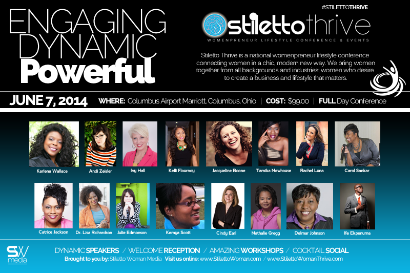 Stiletto Woman Thrive 2014 Speaker Roster