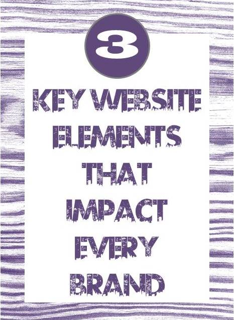 key website elements that impact every brand