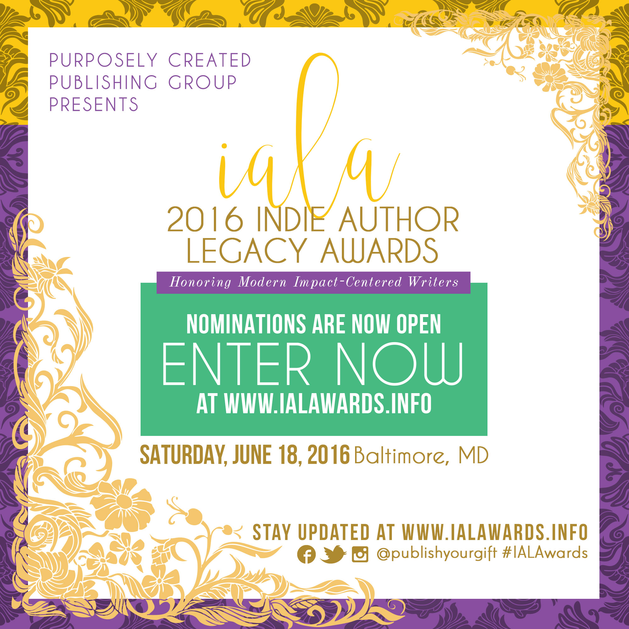 Indie Author Legacy Awards (IALAwards) Celebrates Non Fiction Authors
