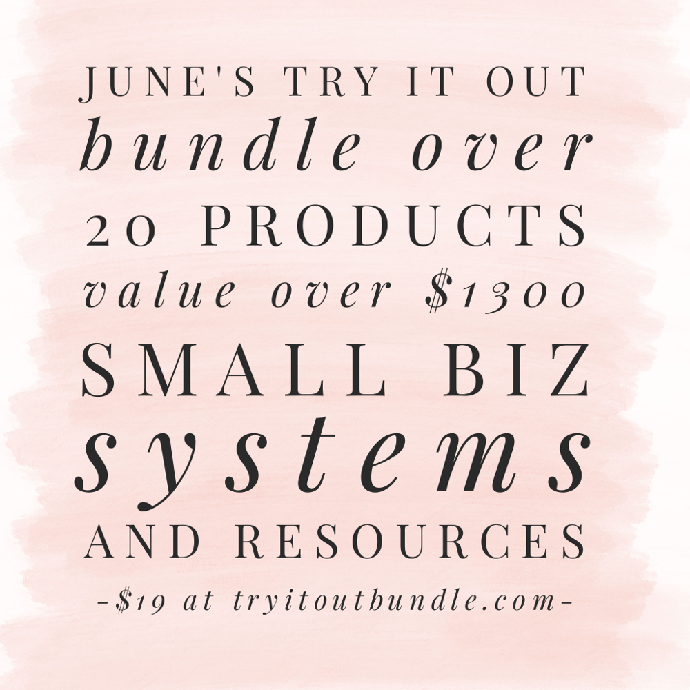 June 2017 Try It Out Bundle