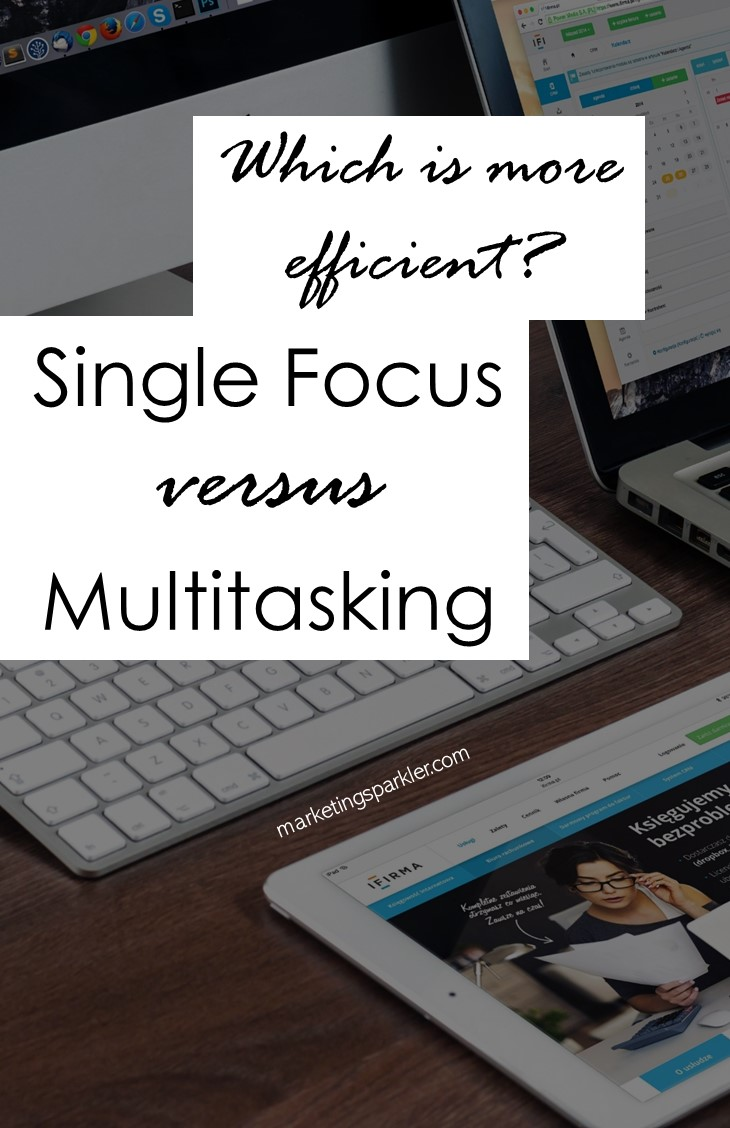 Focus vs multitasking: Most of us think we're more efficient when we are multitasking. But in fact, the opposite is true. Learn how to manage multiple projects effectively and become more productive as a project manager.