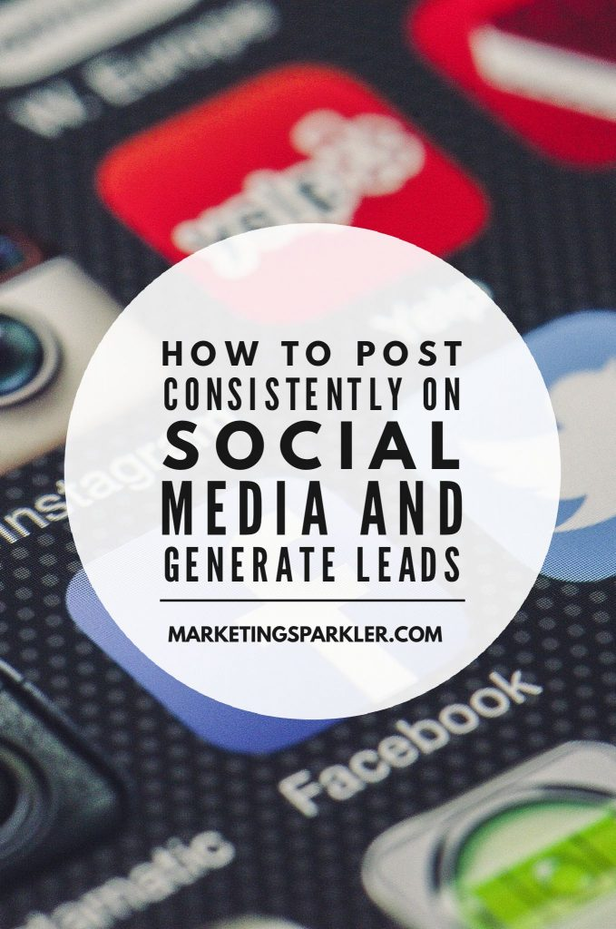 how to post consistently on social media