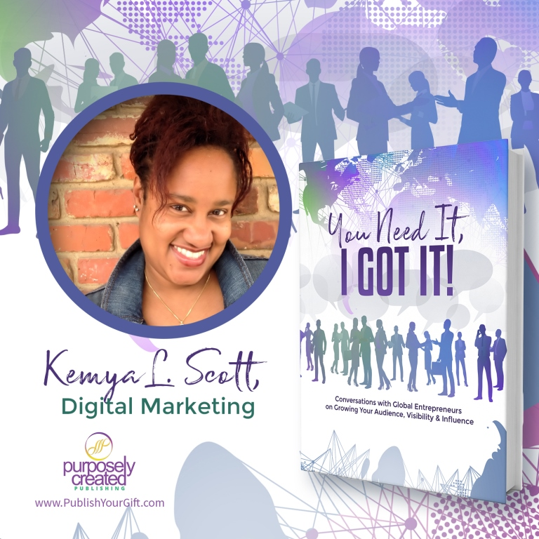 You Need It, I Got It Book Collaboration available on Amazon.com