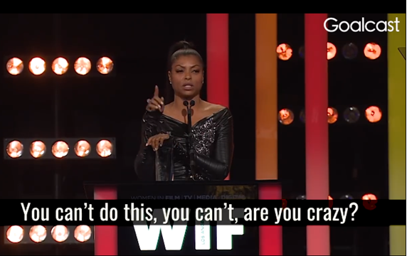 Taraji Says Start With You [Video]