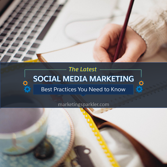 social media marketing best practices you need to know infographic graphic square