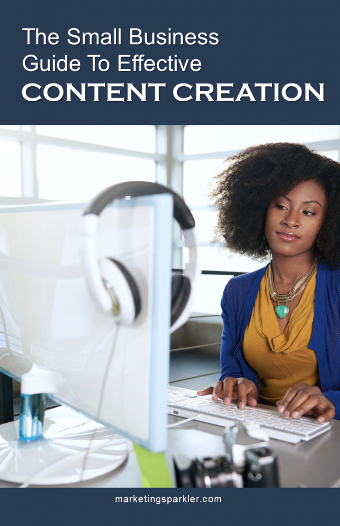 Content creation for small business: a user guide via Marketing Sparkler