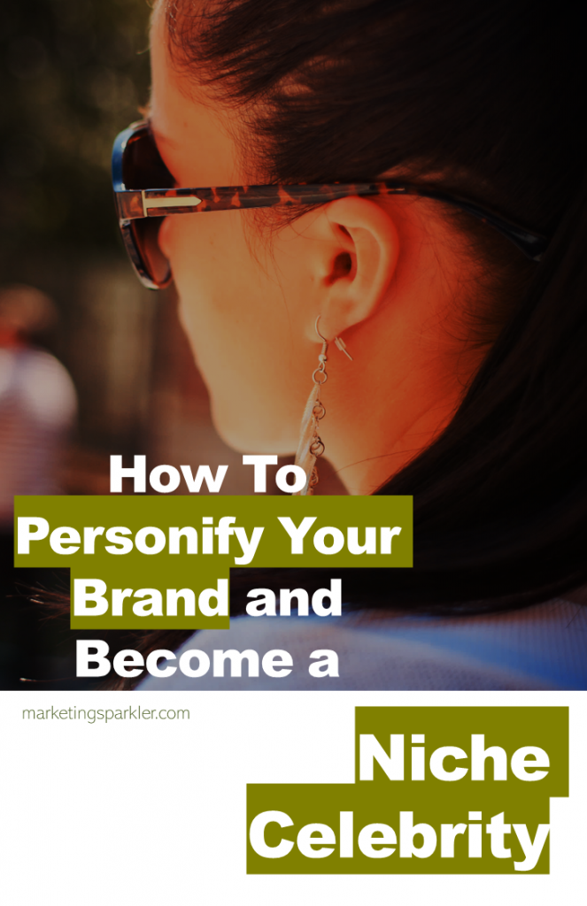 When building a brand online, personal branding can help you build credibility and trust in your niche. Embody your brand and you can become a niche celebrity.