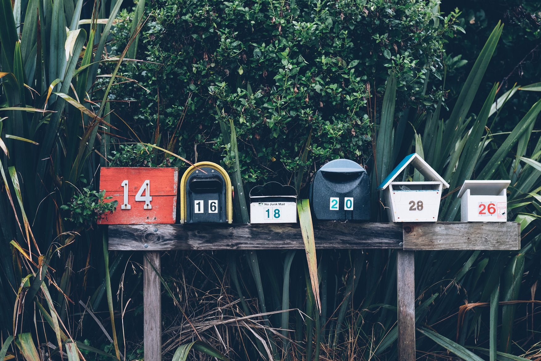 direct marketing pretty mailboxes