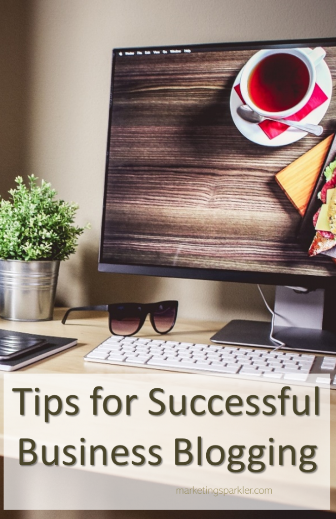 Tips for successful business blogging