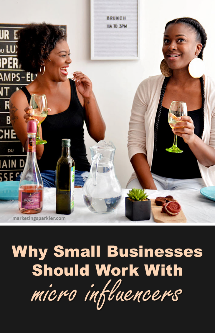 Small businesses can work with micro influencers to generate leads, as #influencermarketing represents the fastest growing customer acquisition channel. Learn why and how your business should work with micro #influencers.