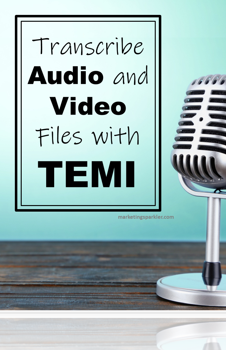 Transcribe audio and video files with TEMI, plus easy ways you can outsource content to get more done and save time in your business.