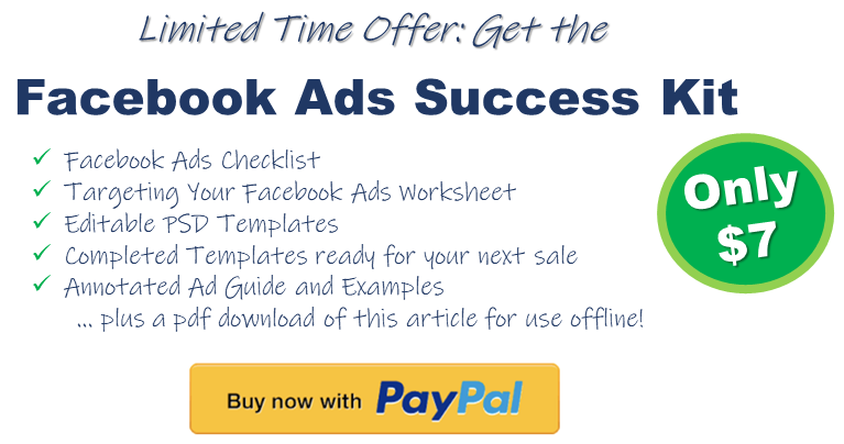 Get the Facebook Ads Success Kit: 10 Steps to Effectively Market Your Business with Facebook Ads