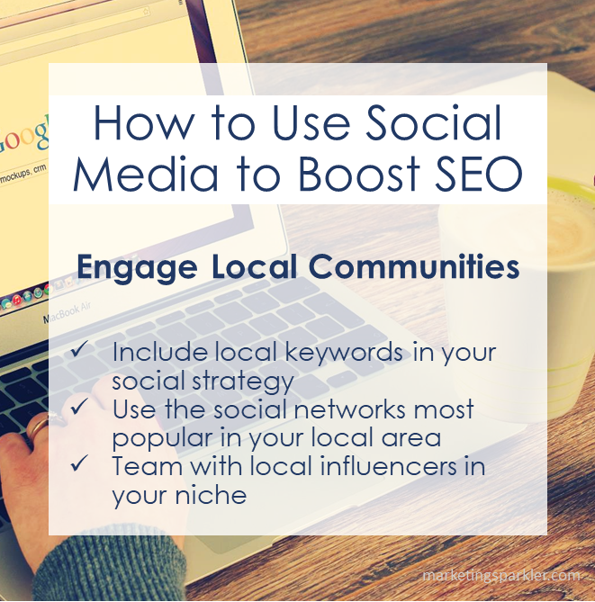 How to Use Social Media to Boost SEO Engage Local Communities