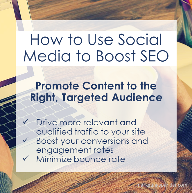 How to Use Social Media to Boost SEO Promote Content to the Right Targeted Audience