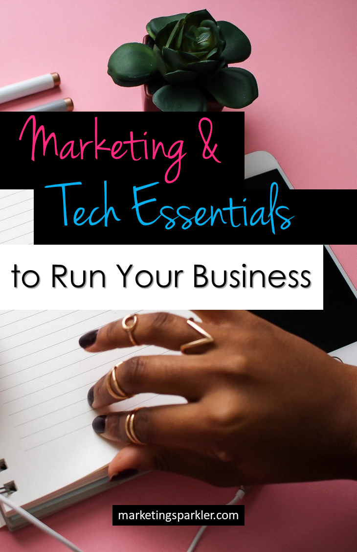 Marketing and Tech Essentials to Run Your Business: Given the rise of social media and mobile-first marketing, it's become more important than ever for business owners to stay on top of the latest trends in technology and marketing. The good news is that there is a wide variety of budget friendly tools and processes available to leverage the internet, starting with this list.