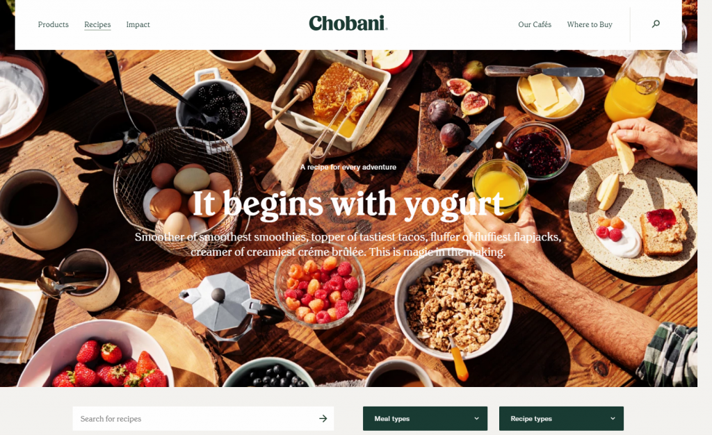 chobani it all begins with yogurt