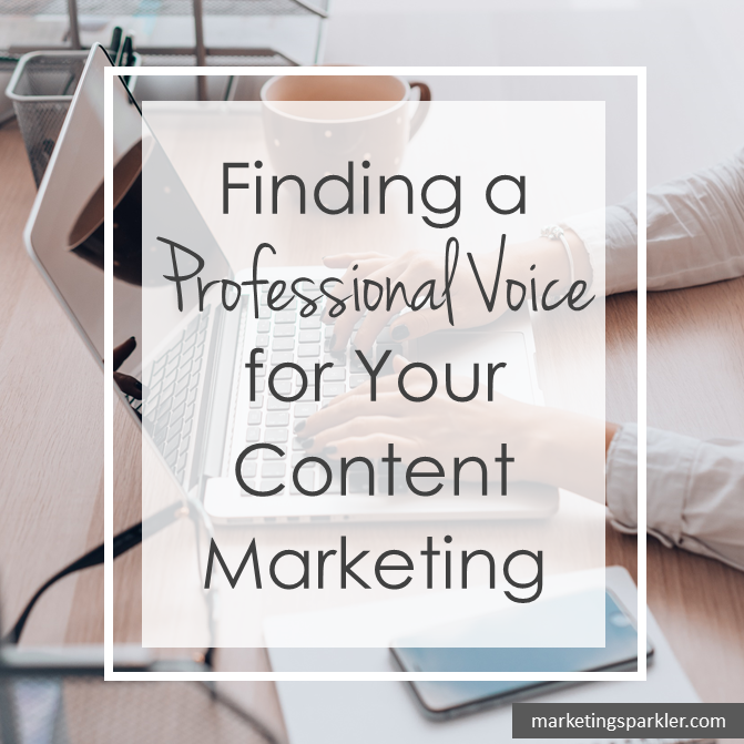Finding a Professional Tone of Voice for Your Content Marketing