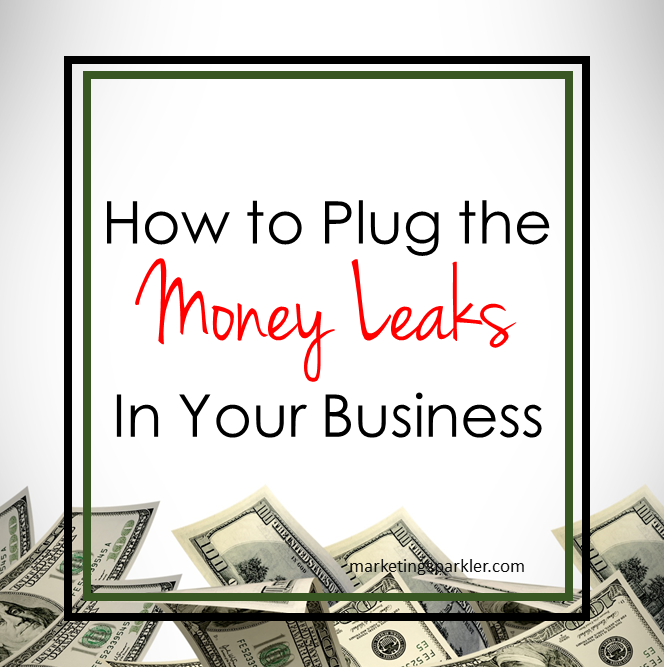 How to Plug the Money Leaks In Your Business