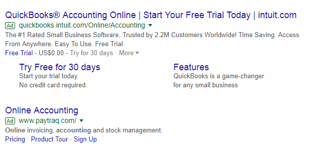 Try doing paid ads screenshot