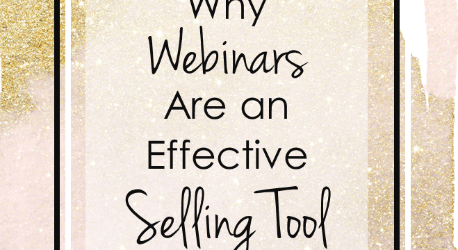 Why Webinars Are An Effective Selling Tool