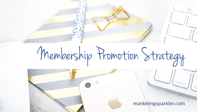 Membership Promotion Strategy