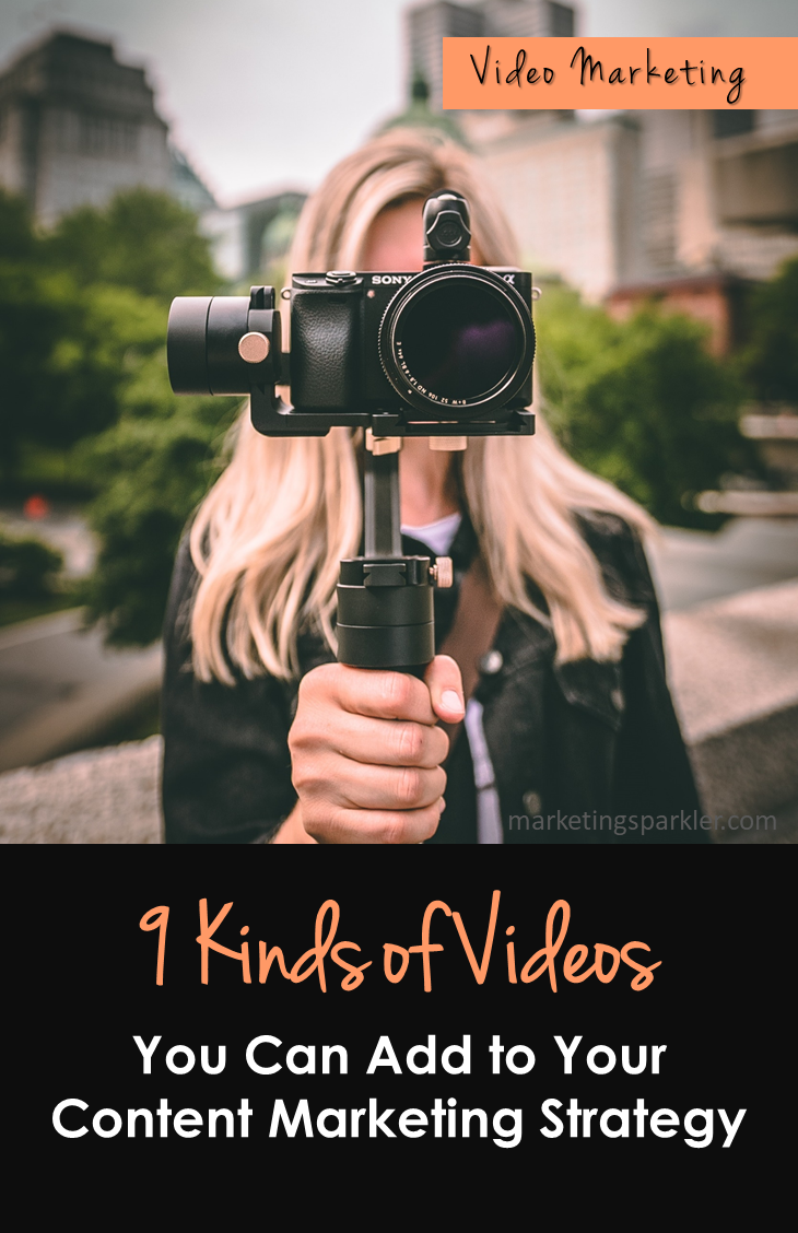 9 Kinds of Videos to Add to Your Content Marketing Strategy Pinterest