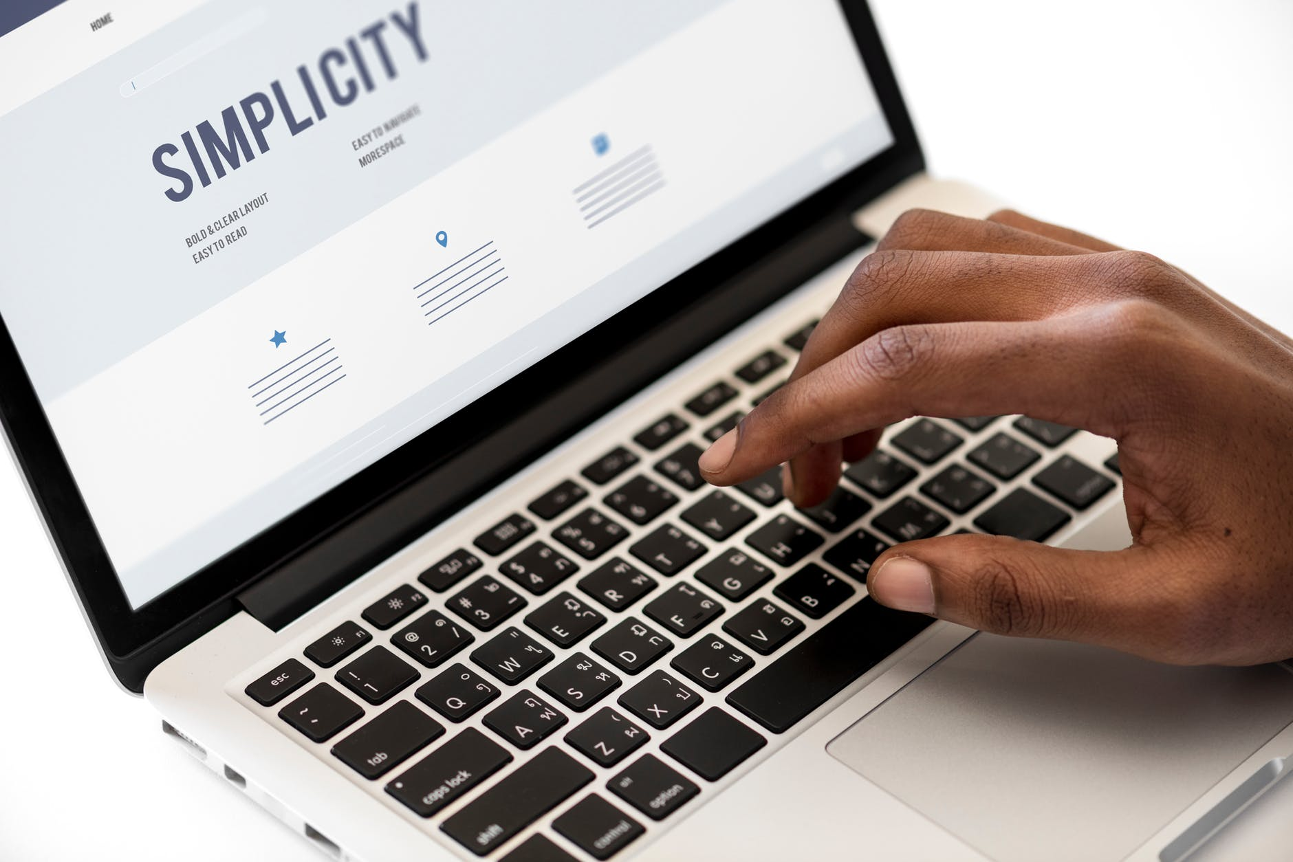 keep your website simple but informative to improve customer dwell time on your website