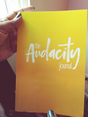 Click here to enter my Audacity Journal Giveaway
