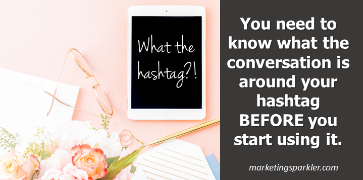 How to Create Effective Hashtags - conversation around current hashtags