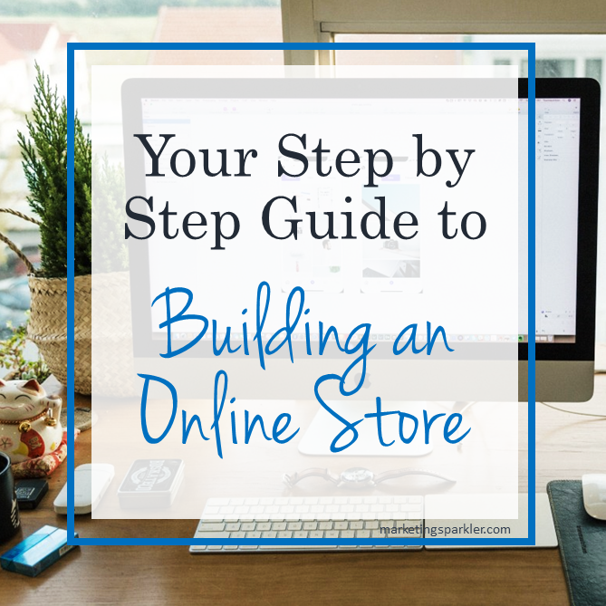 Step by step guide to build an online store