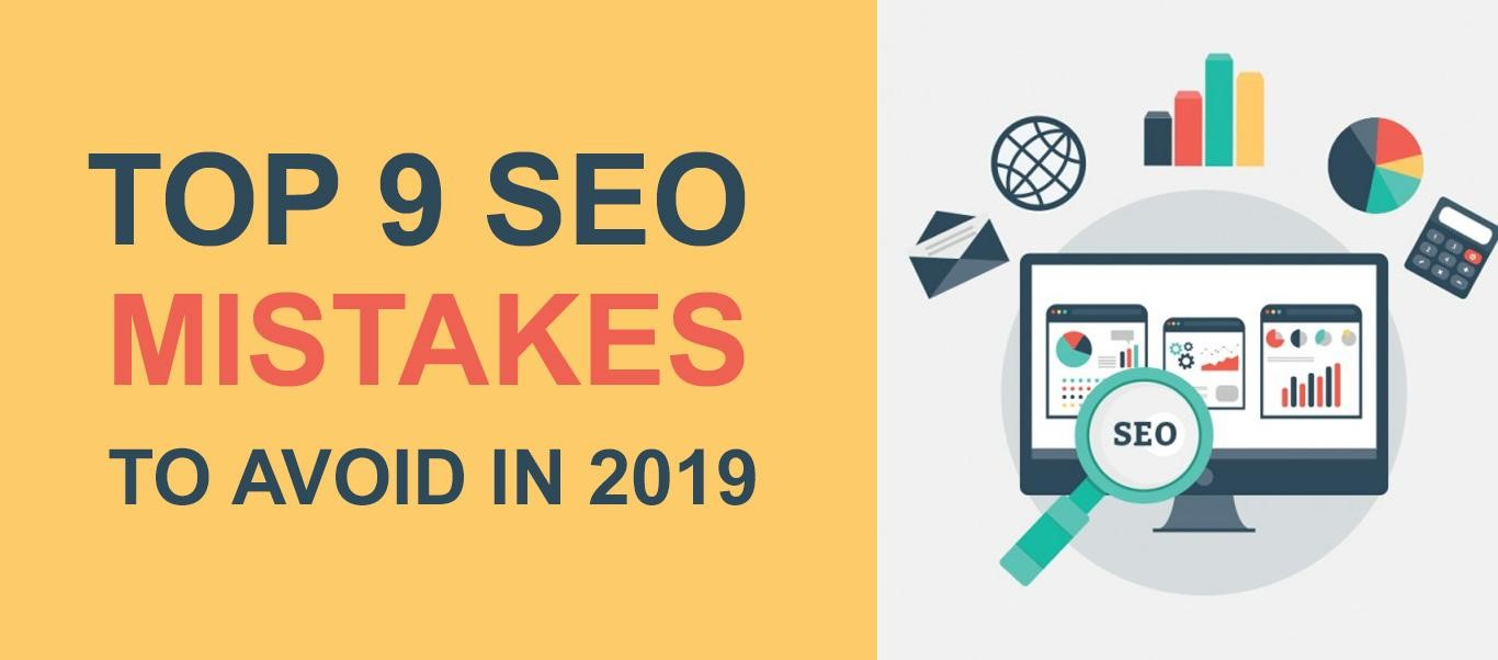 Top SEO Mistakes to avoid in 2019