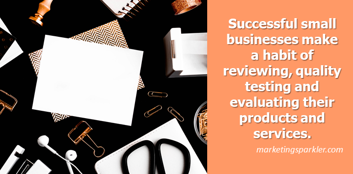 4 Things Successful Small Businesses Always Do Review Products