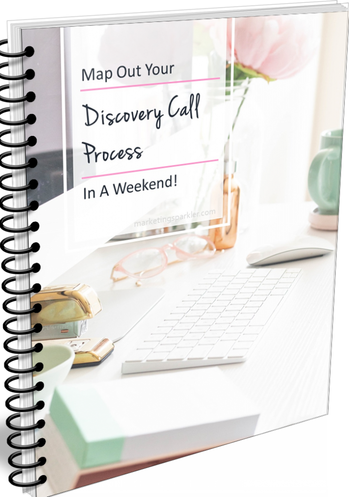 COVER Map out your discovery call process in a weekend ringspiralbinder