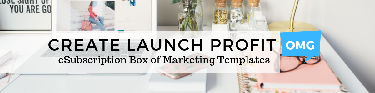 Create Launch Profit banner